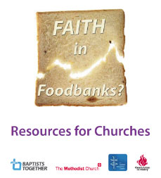 Faith in foodbanks - resources for churches